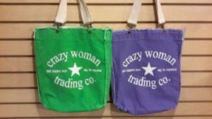Crazy Woman Totes